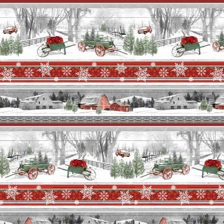 Holiday Homestead Novelty Stripe Multi