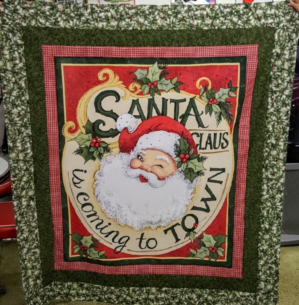 Retro Santa Quilt Kit