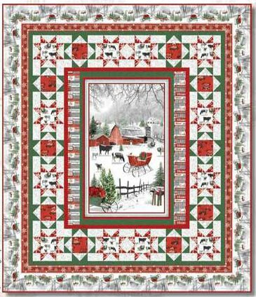 Holiday Homestead Quilt Kit