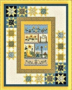 Sunshine Garden Quilt Kit