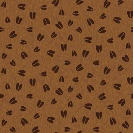 Pinewood flannel animal tracks brown
