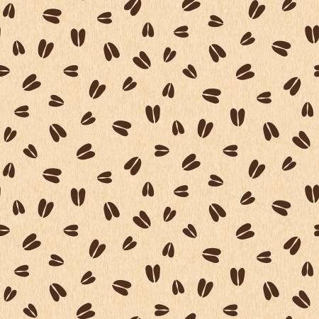 Pinewood flannel animal tracks cream