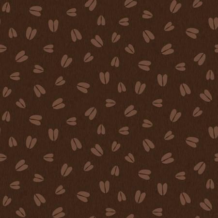 Pinewood flannel animal tracks Dk Brown
