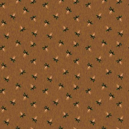 Pinewood flannel pinecone brown