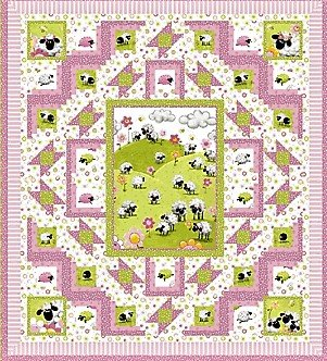 Had a Little Lamb Quilt Kit