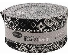 Basically Black+White Jelly Roll  (40)