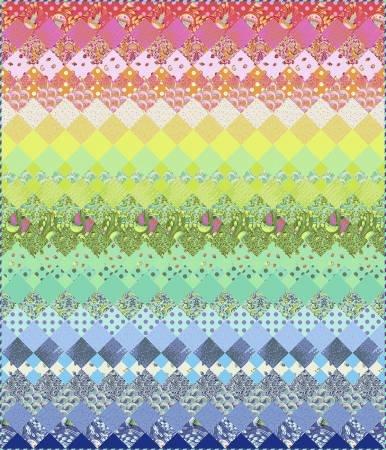 Zuma Aurora quilt kit tula pink