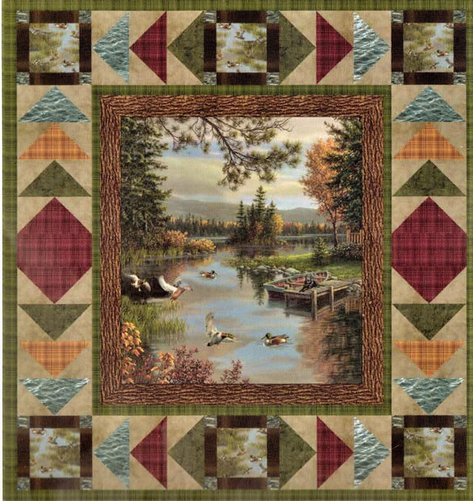 Lakeside and Landscapes Quilt Kit