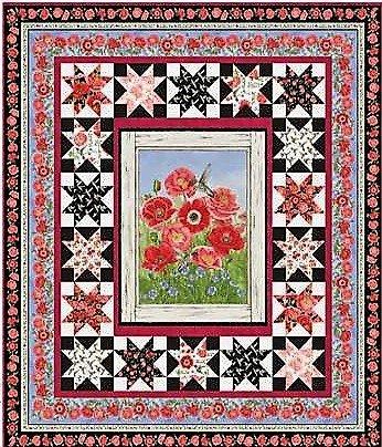 Poppy Meadows Quilt Kit