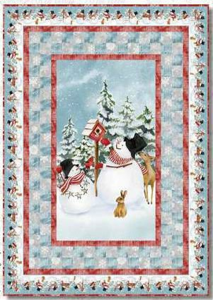 Snow Days Quilt Kit #1