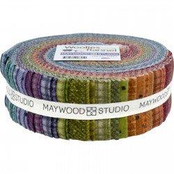 Woolies Flannel Jelly roll (40)