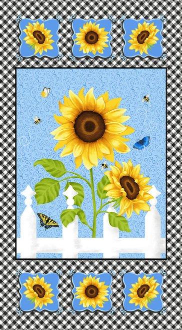 Sunny Sunflowers 24 Panel