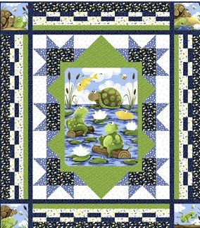 Water-Logged Quilt Kit
