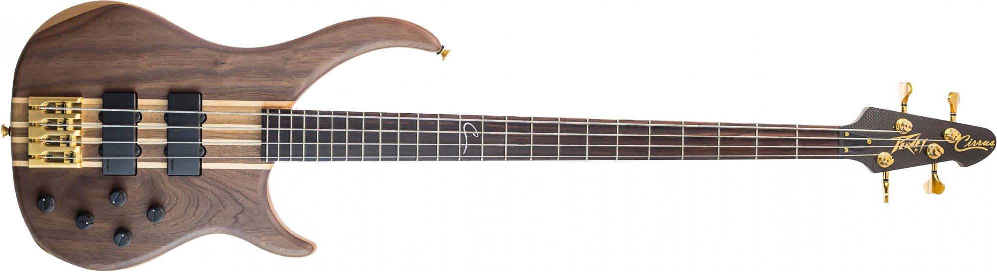 peavey cirrus 4 walnut 4 string bass guitar. Black Bedroom Furniture Sets. Home Design Ideas