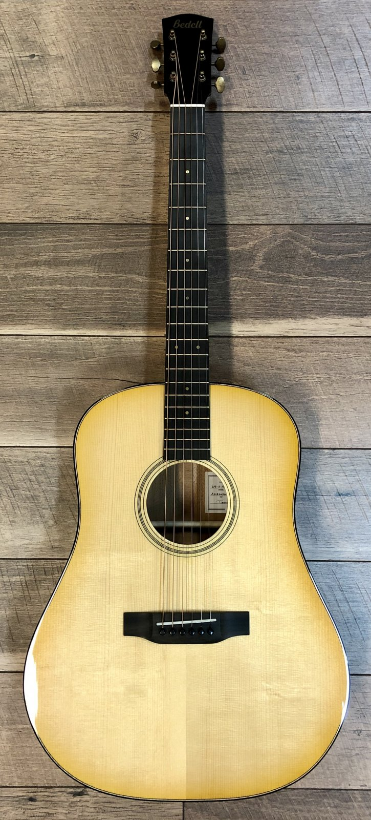 Bedell 64-D-AD/HM 1964 Special Edition Dreadnought Acoustic Guitar