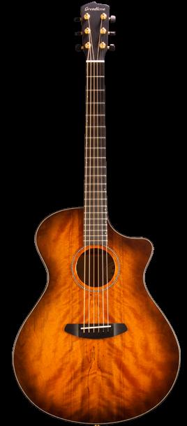 Breedlove ORCO04CEMYMY Oregon Concerto Bourbon CE Myrtlewood-Myrtlewood Acoustic-Electric Guitar