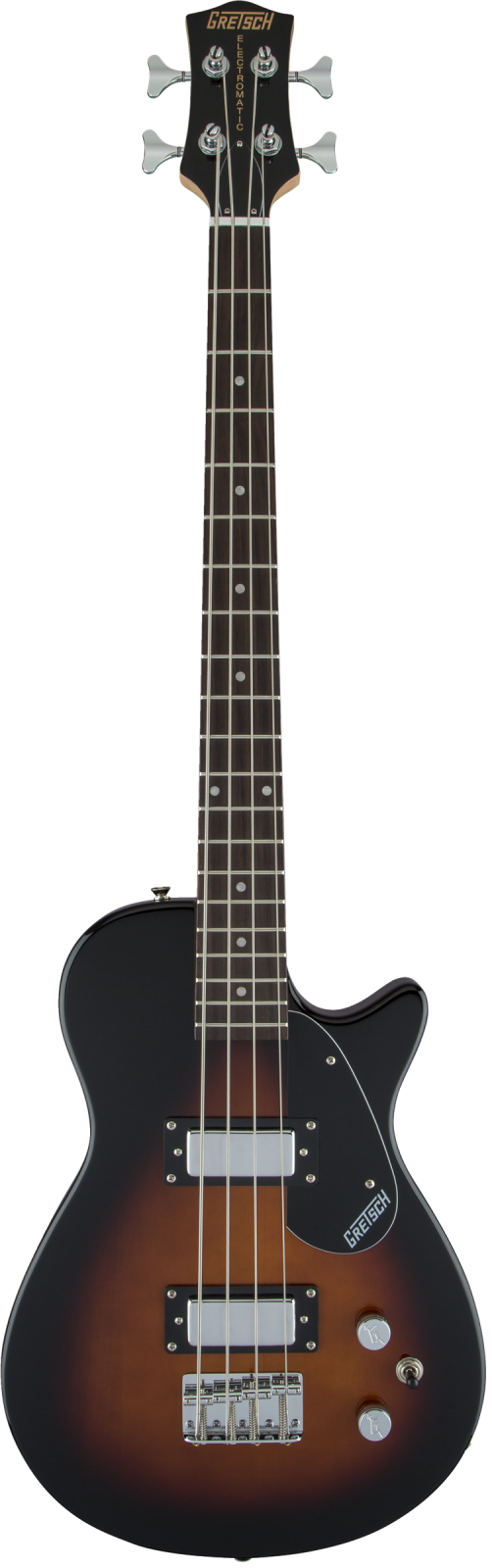 Gretsch G2220 Electromatic Junior Jet Bass II Short-Scale Black Walnut Fingerboard Tobacco Sunburst