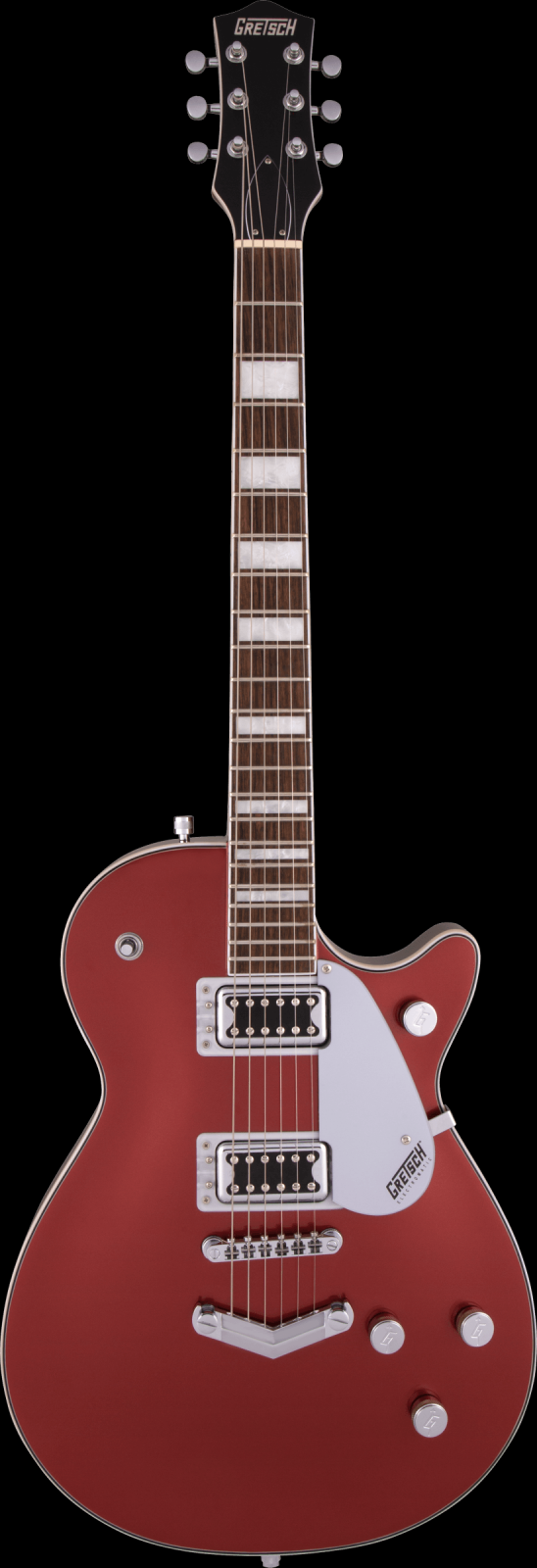 Gretsch G5220 Electromatic Jet BT Single-Cut with V-Stoptail Laurel Fingerboard Firestick Red