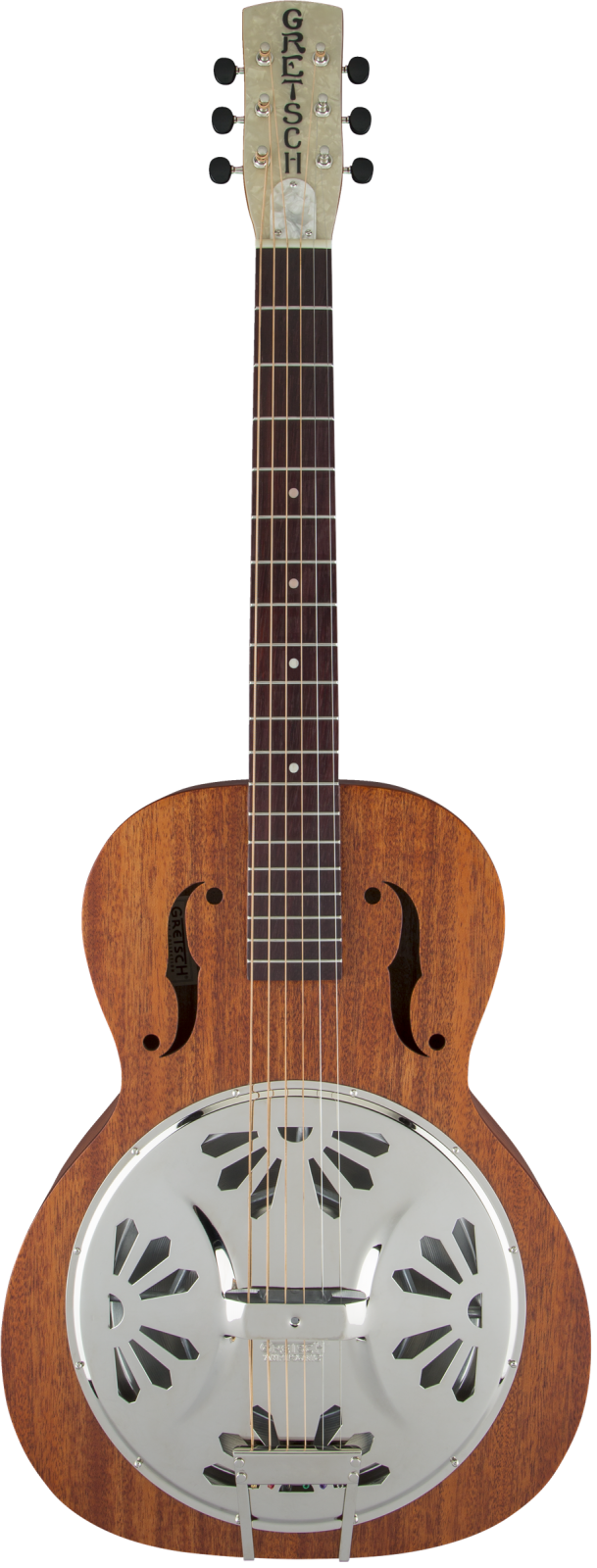 Gretsch G9200 Boxcar Round-Neck, Mahogany Body Resonator Guitar, Natural