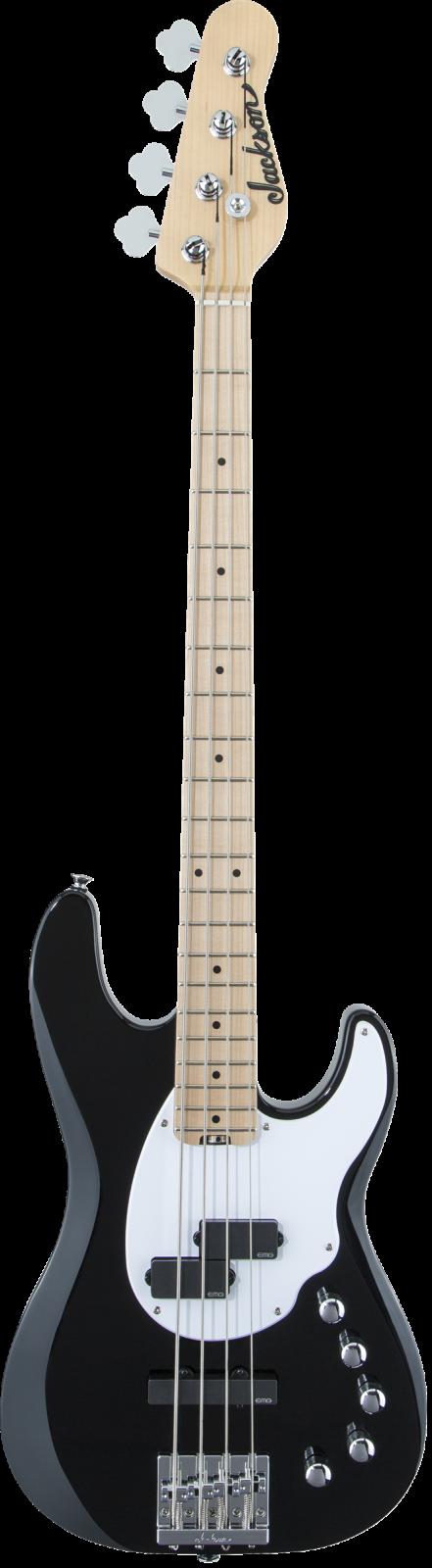 Jackson X Series Signature David Ellefson Concert Bass CBXM IV Maple Fingerboard Gloss Black