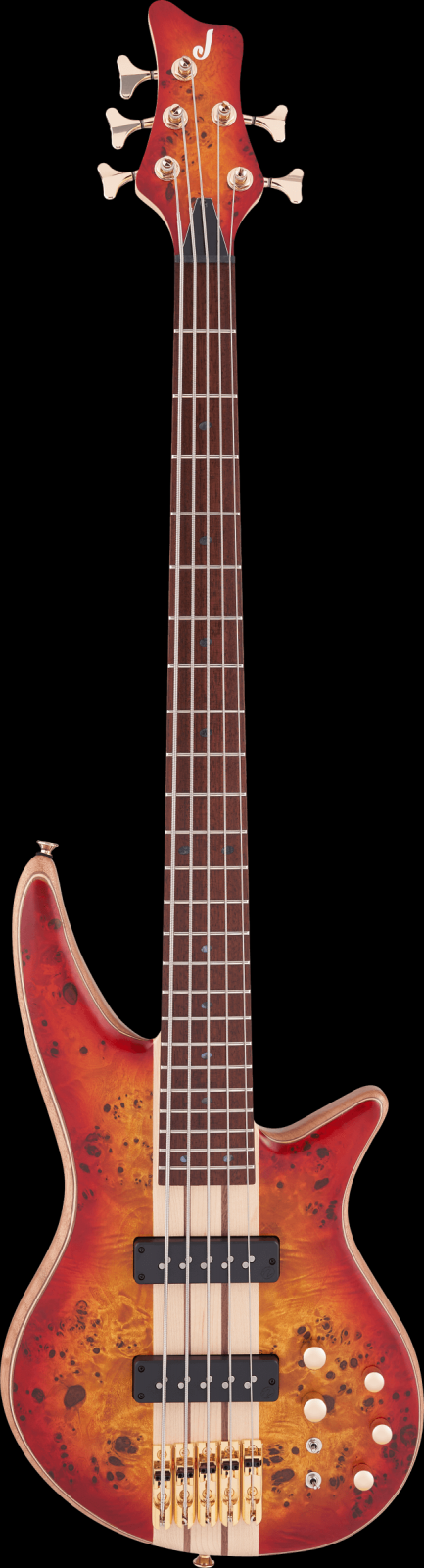 Pro Series Spectra Bass SBP V, Caramelized Jatoba Fingerboard, Transparent Cherry Burst