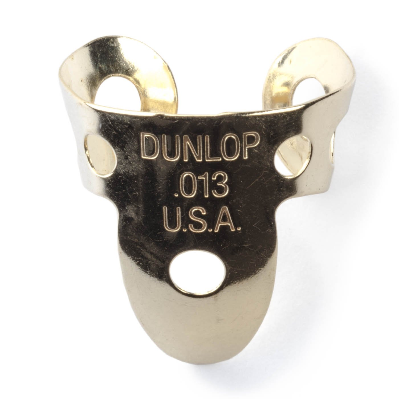 Dunlop 37R .013mm Single Brass Fingerpick