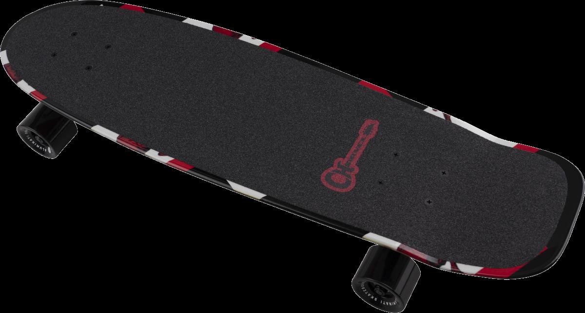 Charvel Skull And Bones Skateboard