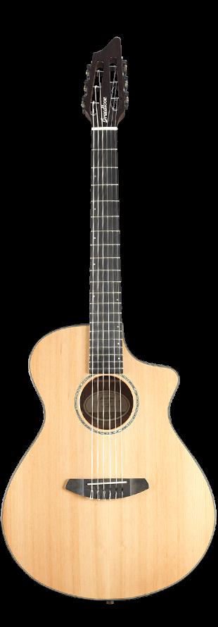 Breedlove SLCN01NCERCOV(3) Solo Concert Nylon CE Red Cedar-Ovangkol Guitar