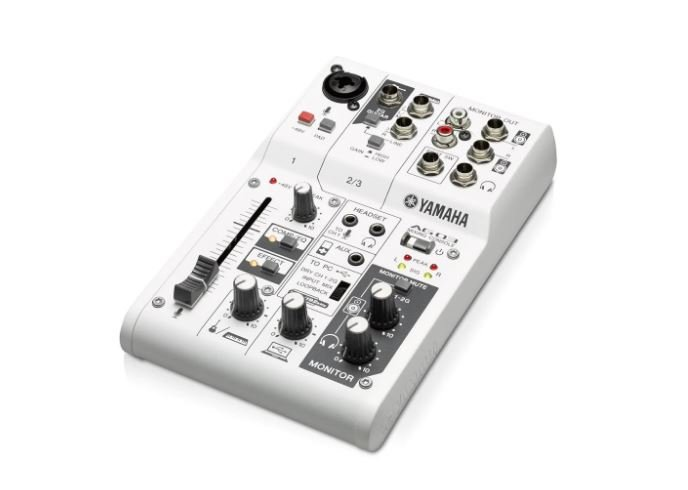 Yamaha AG03 3-Channel Mixer/USB Audio Interface for IOS/MAC/PC