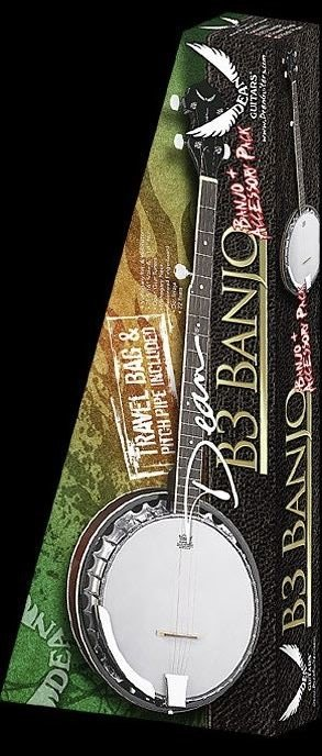 Dean Banjo Pack with Gig Bag Strap and Pitch Pipe