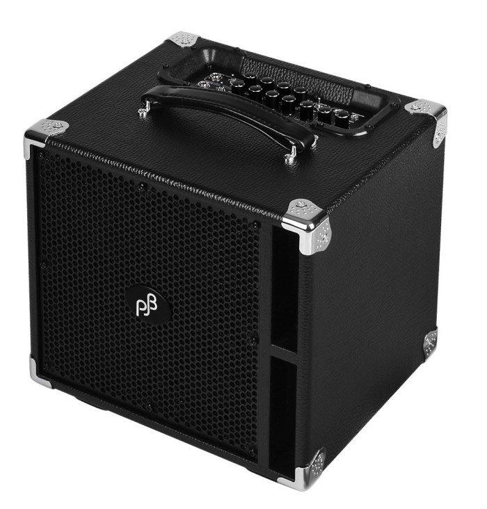 Phil Jones Bass BG-400 Suitcase Compact 300W Combo 4x5 Piranha 500W w/ext - Black
