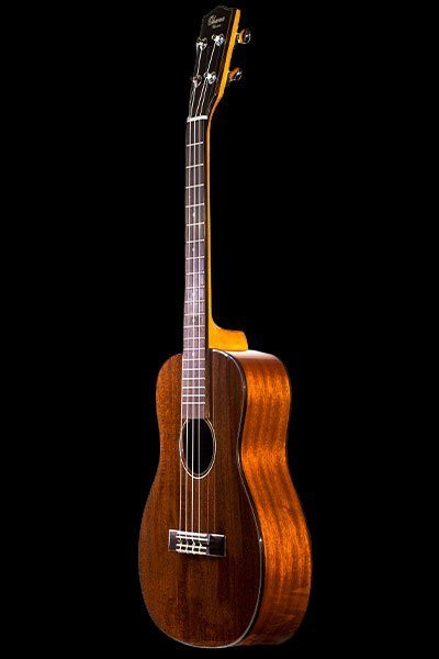 Ohana BK-35G Solid Mahogany Top Back & Sides Wood Binding Purfling Gloss