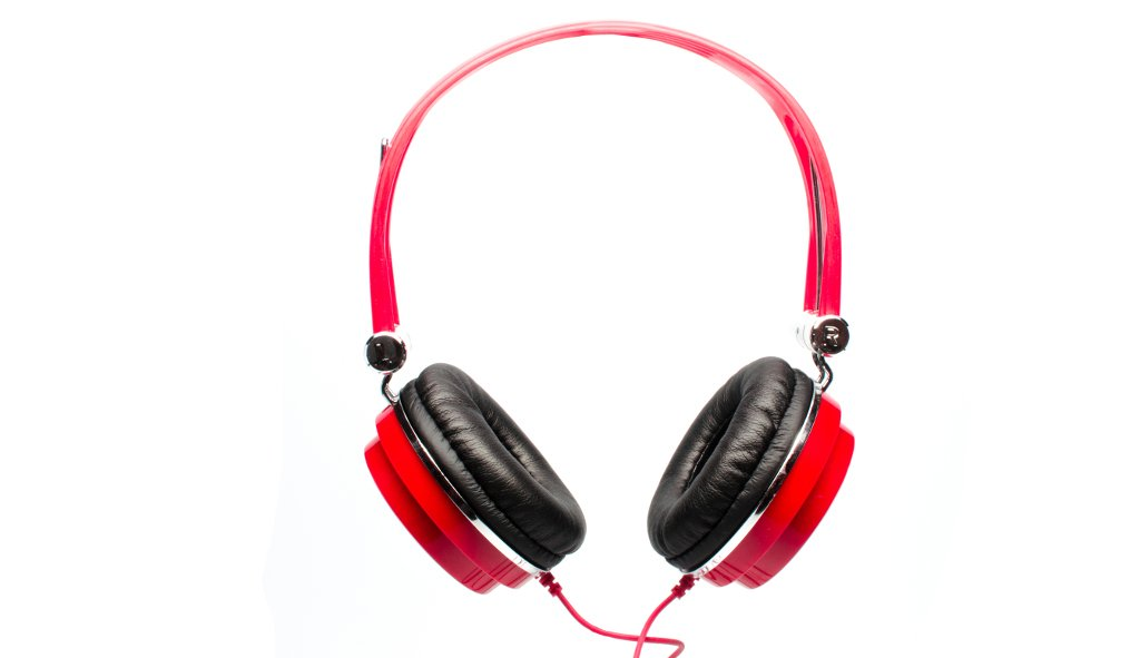 CAD MH100R Closed Back Headphones - Red
