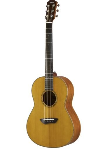 Yamaha CSF3M VN All-Solid Parlor Size Acoustic Guitar, Vintage Natural