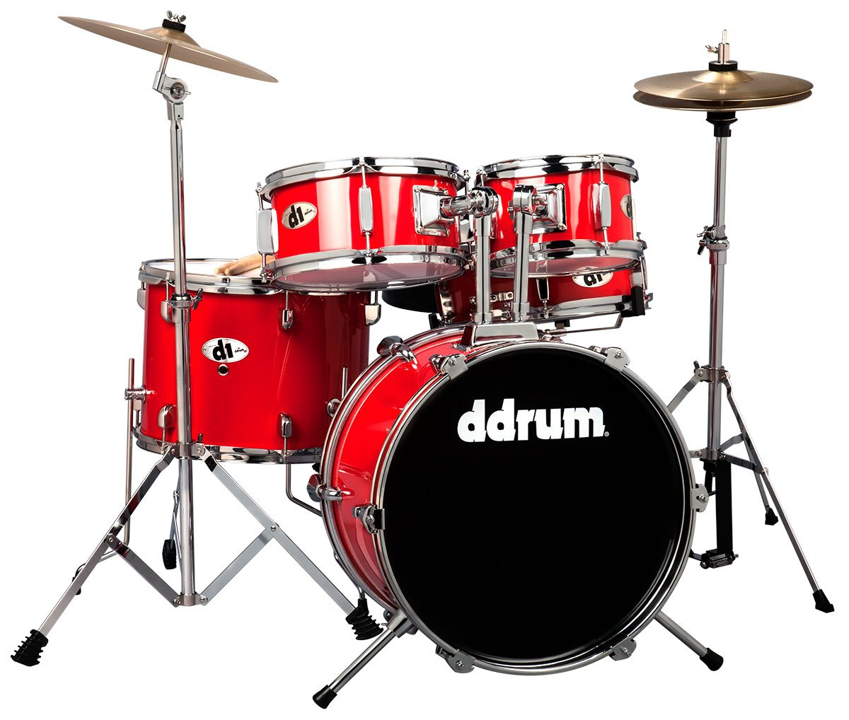 DDrum D1 MB Jr - 5pc - Black - Complete Kit