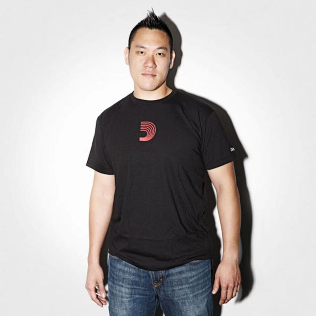D'Addario D-Mark T-Shirt Black Medium