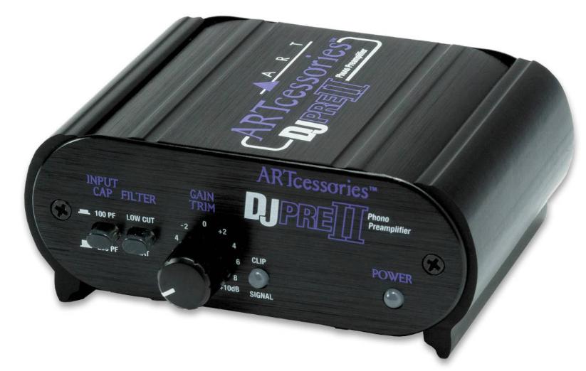 ART DJPRE-2 Phono Preamplifier