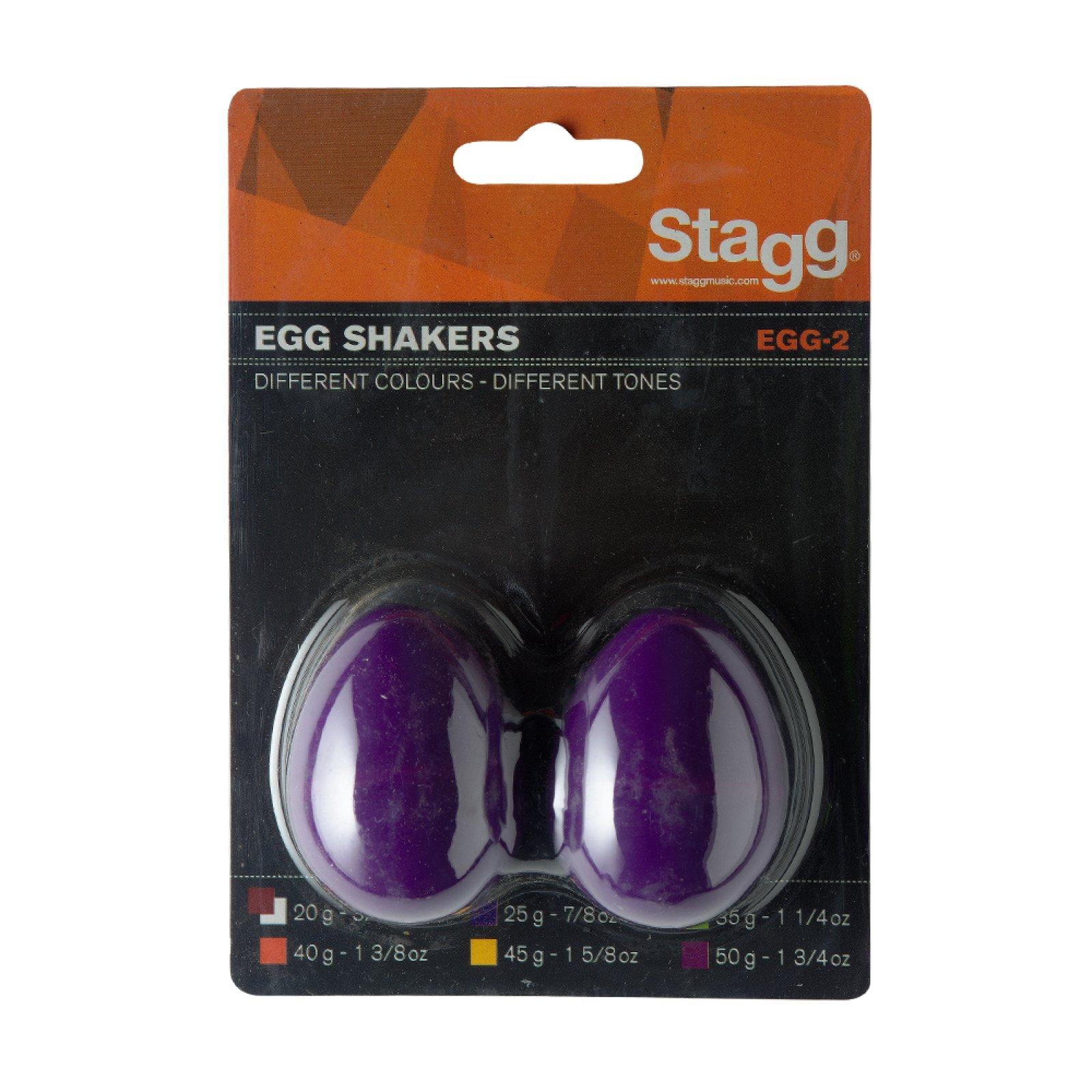 Stagg EGG-2 PP Plastic Egg Shakers