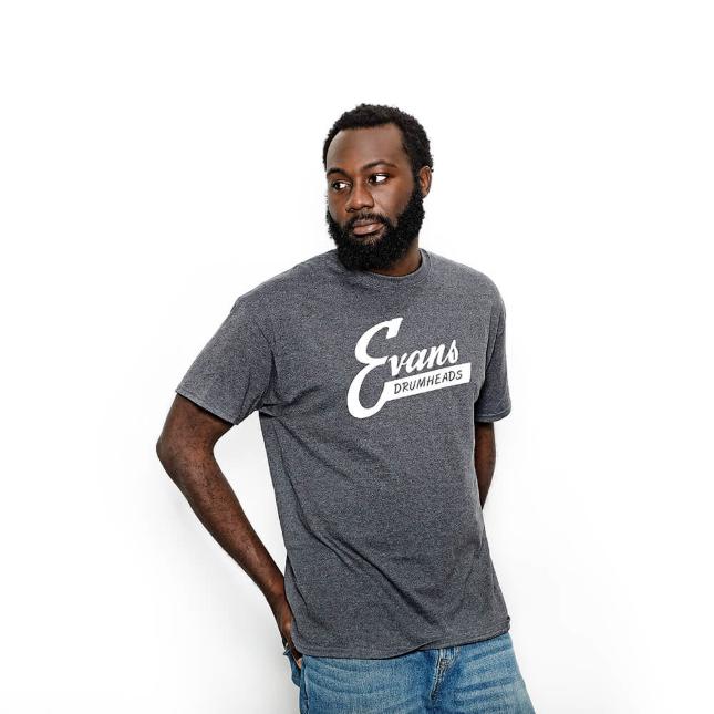 Evans Vintage Logo T-Shirt Large