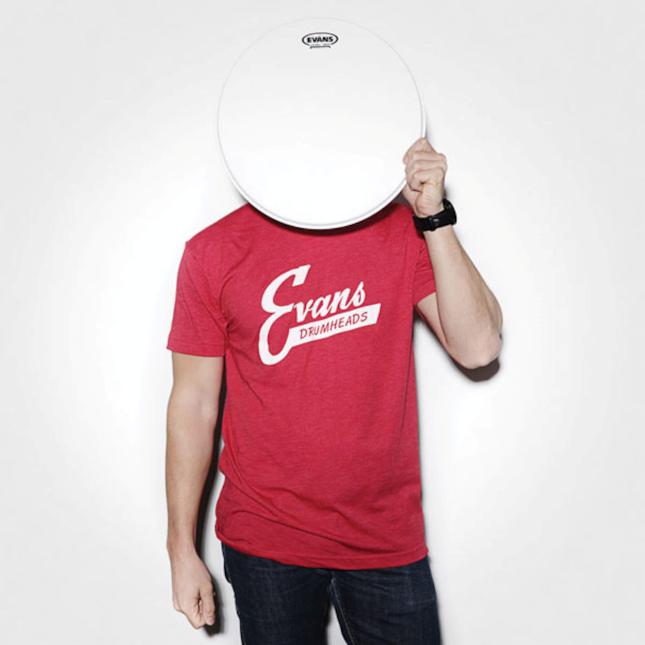 Evans Vintage Logo T-Shirt - Large