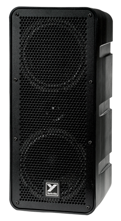 Yorkville EXM-MOBILE Excursion Mini MOBILE - a battery powered compact powered speaker