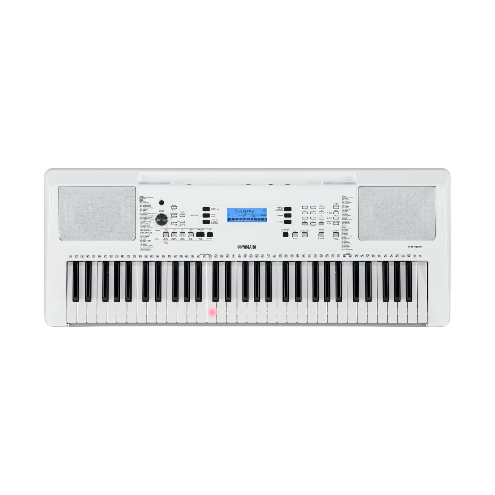 Yamaha EZ300 Groove Zone Portable Keyboard With Light Up Keys