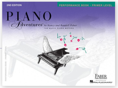 Faber Piano Adventures -  Primer Level - PERFORMANCE BOOK