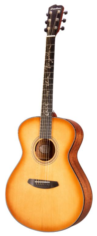 Breedlove SNCN03ETEAM(JB) Jeff Bridges Signature Concert Copper E Acoustic Guitar