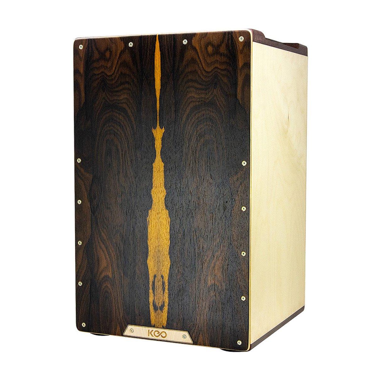 Keo Percussion KEO-LUX-CAJ-ZI Luxury Cajon, Ziricote