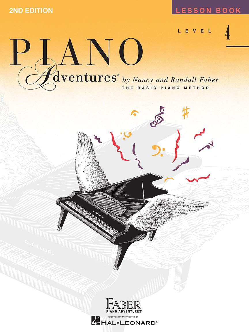 Faber Piano Adventures - Level 4 - Lesson Book