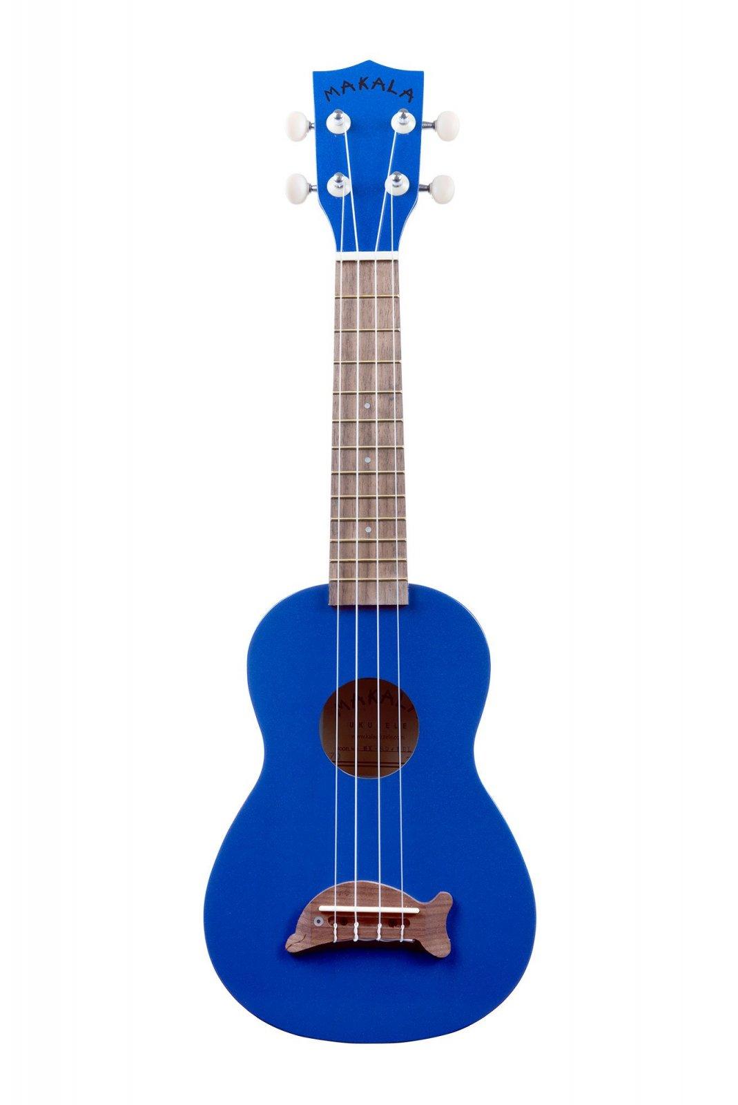 Makala MK-SD/MBL Soprano Ukulele Metalic Blue Dolphin