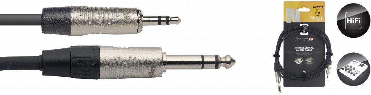 Stagg AC-XMCFH  XLR MALE TO RCA FEMALE Adaptor   2 PACK