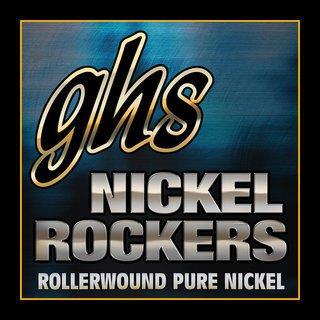 GHS R+RM Nickel Rockers Electric Guitar Strings Med 11-50