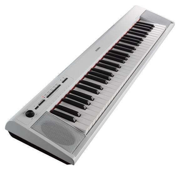 Yamaha NP12WH 61-Key Entry-Level Piaggero Ultra-Portable Digital Piano White